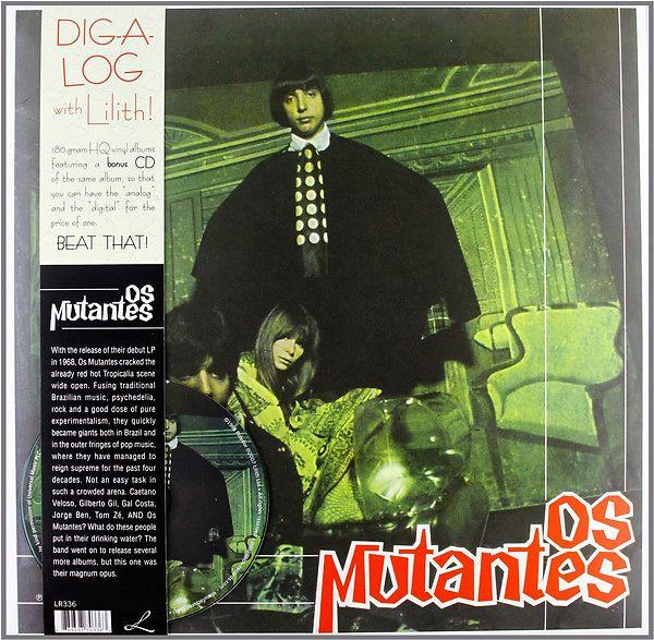 cd os mutantes 1968