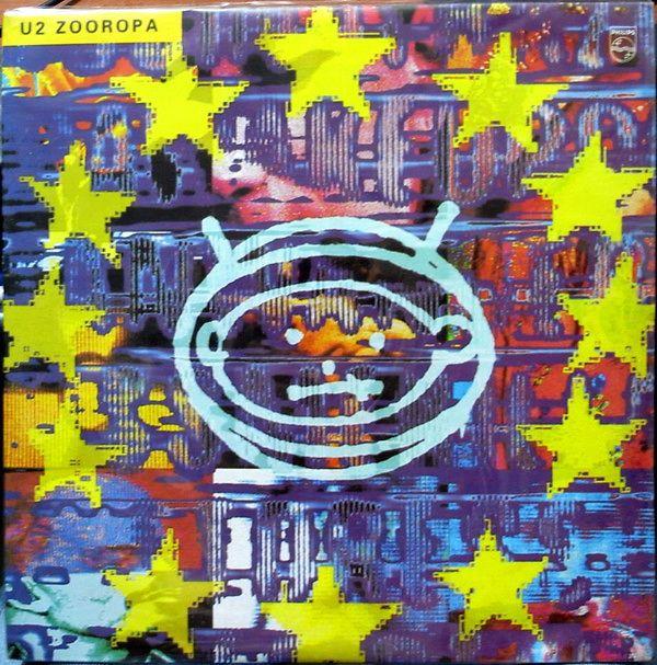 Zooropa U2 Lp Music Mania Records Ghent