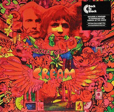 Disraeli Gears, Cream - LP - Music Mania Records - Ghent