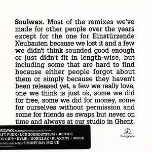 Most Of The Remixes    , Soulwax – CD, CD – Music Mania