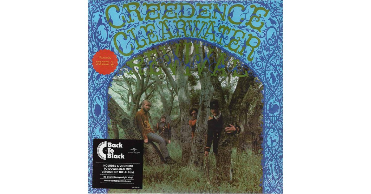 Creedence Clearwater Revival, Creedence Clearwater Revival – LP