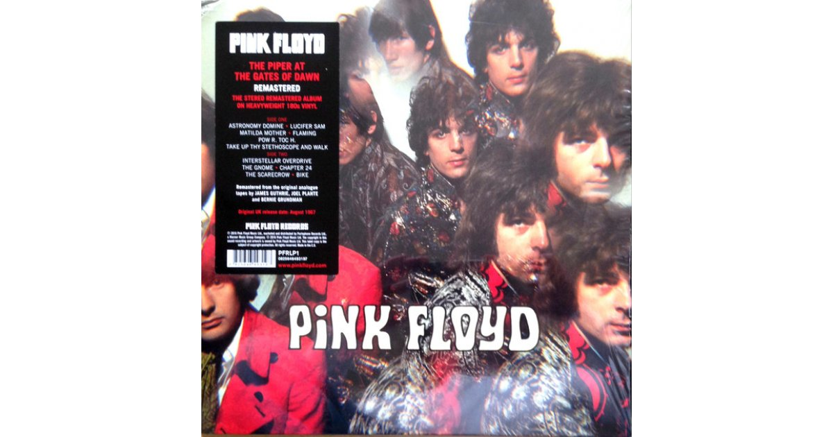 the piper at the gates of dawn pink floyd lp music mania records ghent. Black Bedroom Furniture Sets. Home Design Ideas