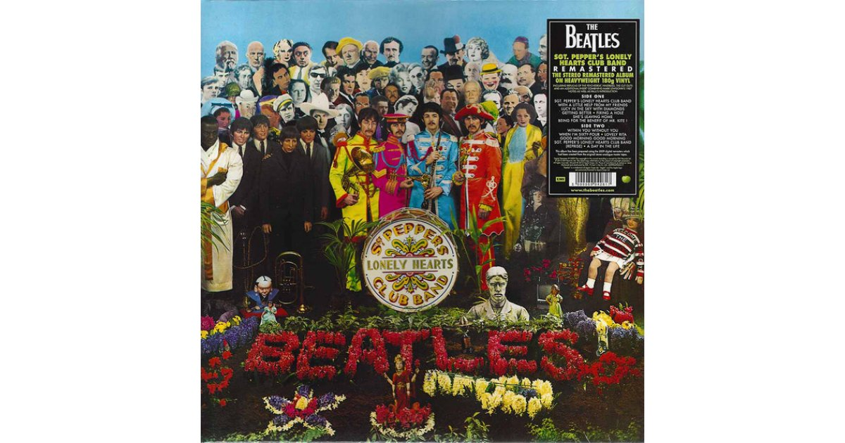 Sgt Pepper S Lonely Hearts Club Band The Beatles Lp