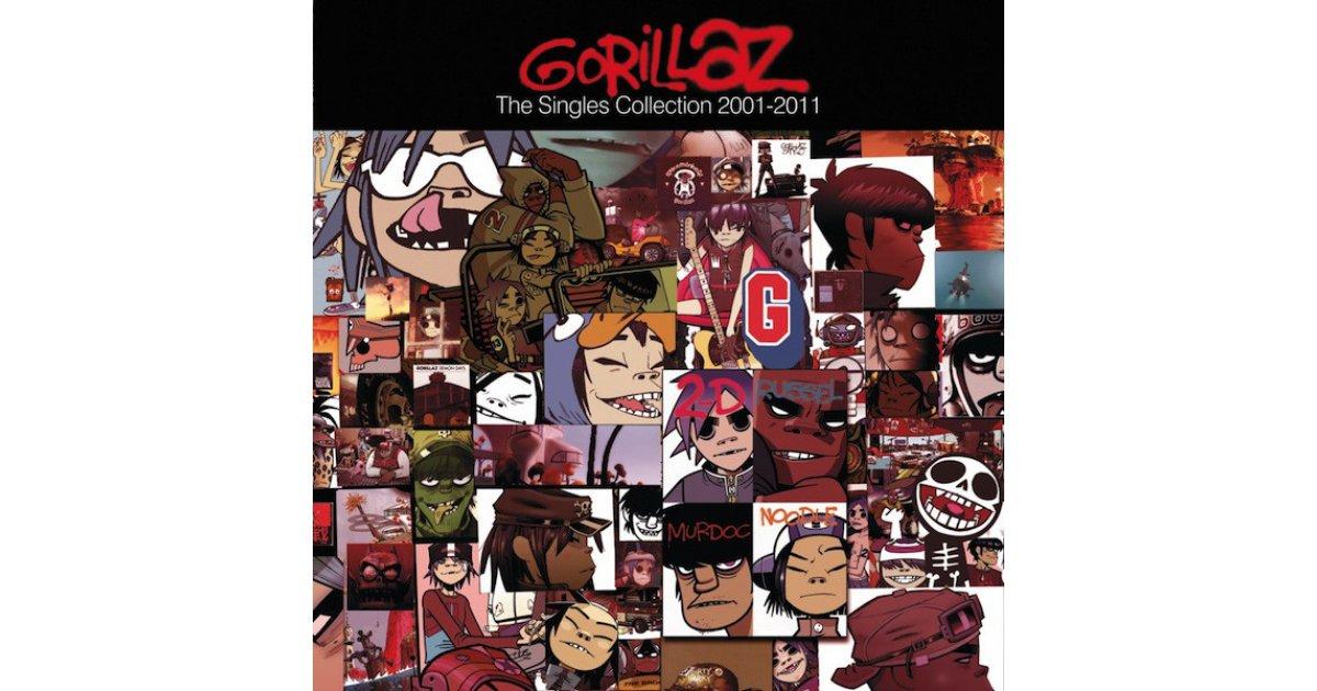 The Singles Collection 2001-2011, Gorillaz – box set, 7
