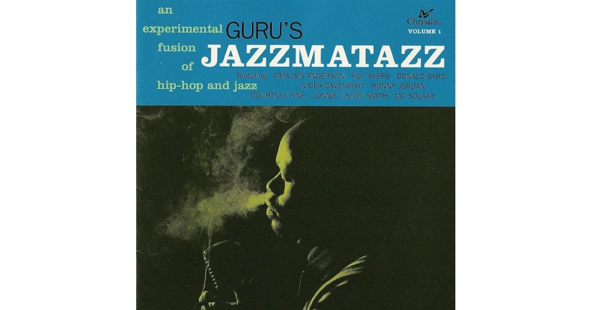 Jazzmatazz Volume 1 Guru Cd Music Mania Records Ghent