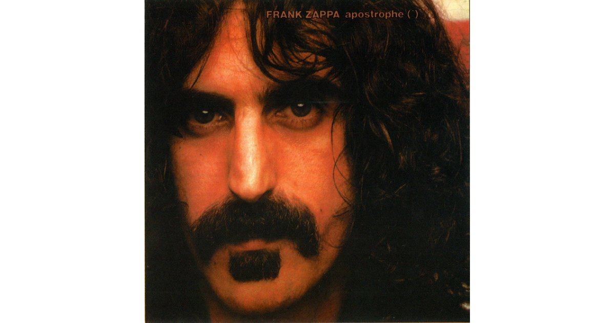 Apostrophe Frank Zappa Cd Music Mania Records Ghent
