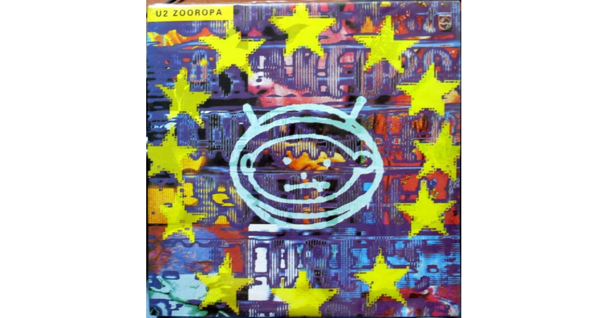 Zooropa U2 Lp Music Mania Records Ghent