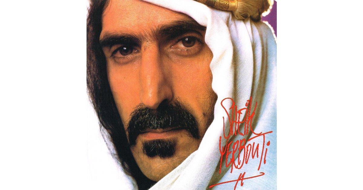 Sheik Yerbouti Frank Zappa Lp Music Mania Records Ghent