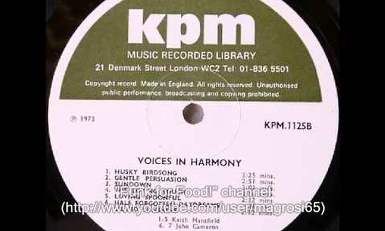 Voices In Harmony, Keith Mansfield – LP – Music Mania Records – Ghent